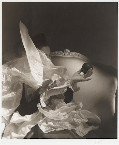 Horst P. Horst (German/American, 1906-1999); Birthday Gloves, New York;