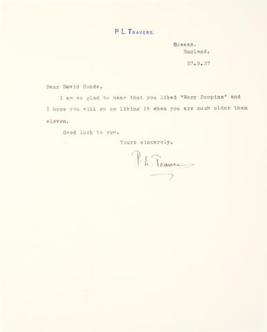 Travers, P.L.  TLS, 1 , 1937.