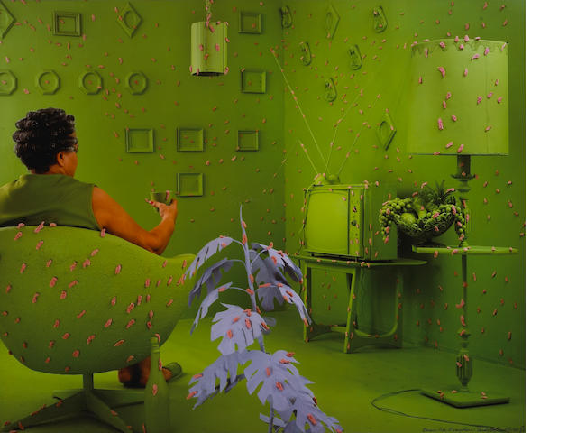 Sandy Skoglund, Germs are Everywhere;