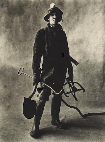 Irving Penn (American, 1917-2009); Sewer Cleaner, New York;