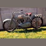 1923 Harley-Davidson 61ci Model F Engine no. 23F11407