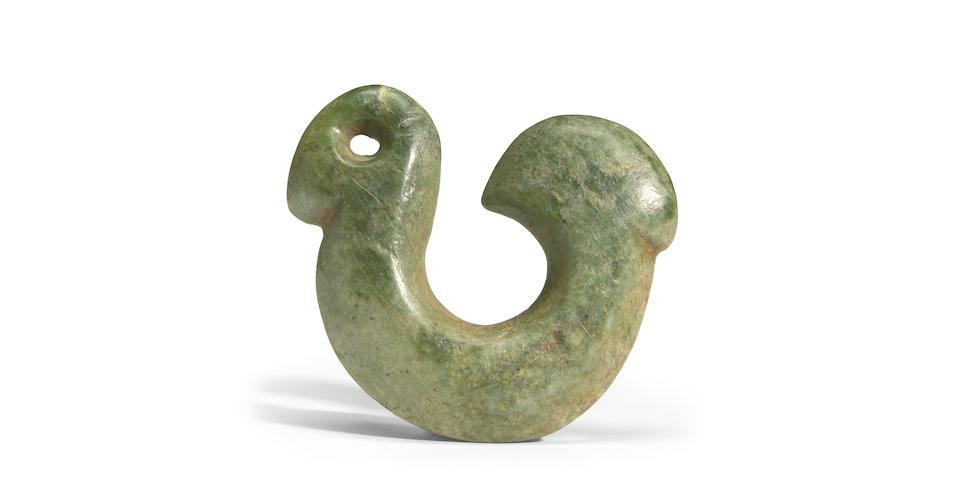 Hei Matau Maori Jade Fish Hook