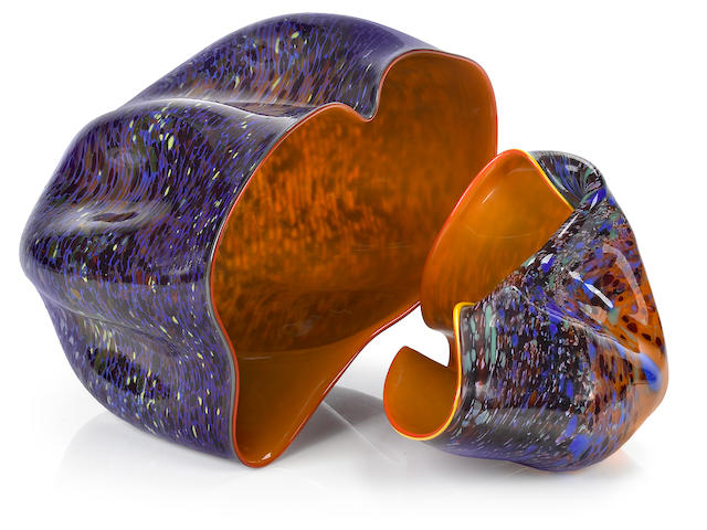 Dale Chihuly (American, born  Macchia couplet, 1982