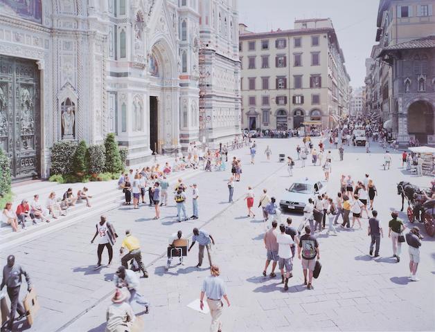 Massimo Vitali (Italian, born 1944); (2) Vareggio Sun 110/120; Firenze Via Via 110/120;