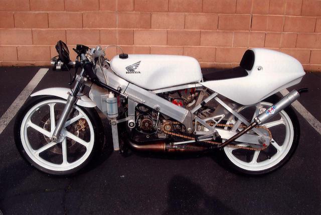 1991 Honda RS 125 Road Racer Frame no. RS125RF9110115 Engine no. RS125RE9110129