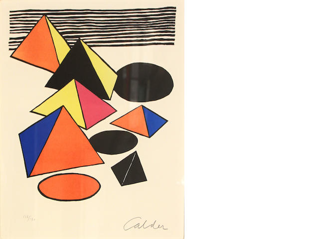 Alexander Calder (American, 1898-1976); Pyramids;