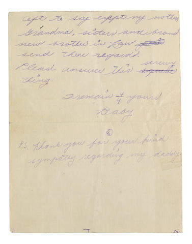 GARLAND, JUDY.  1922-1969.