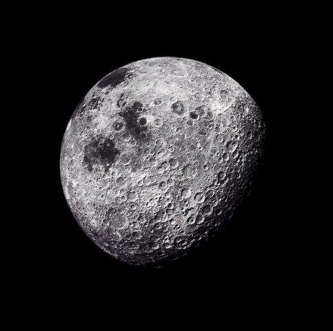 Michael Light The Moon Seen from 1800 Miles Showing Farside Leighlands #109;