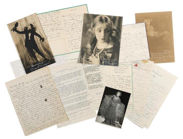 Laurette Taylor archive
