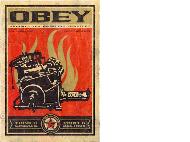 Shepard Fairey (American, born 1970); Obey;