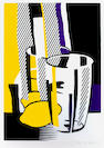 Roy Lichtenstein (American, 1923-1997); Before the Mirror, from Mirrors of the Mind;