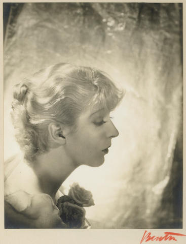 Cecil Beaton (British, 1904-1980); Portrait of Ina Claire;