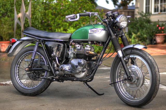 1969 Triumph Trophy Frame no. EC18856 Engine no. 75B6JX