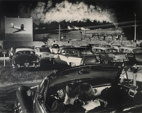O. Winston Link (American, 1914-2000); Hot Shot Eastbound, Iager, West Virginia;