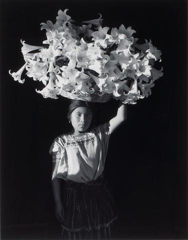 Flor Garduño (Mexican, born 1957); Basket of Light, Sumpango, Guatemala;