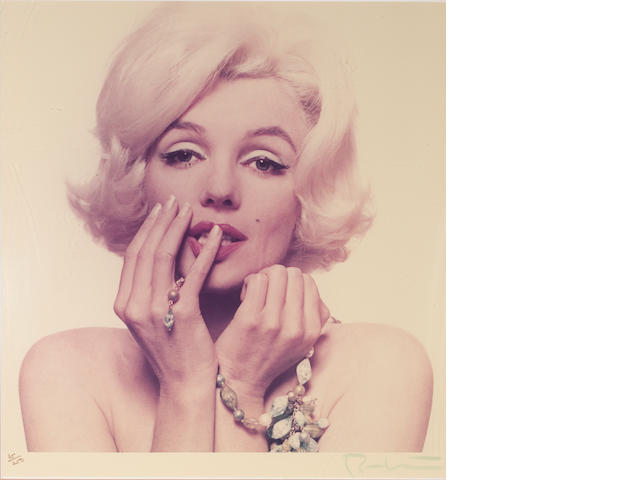 Bert Stern (American, born 1930); Marilyn Monroe, from The Last Sitting;