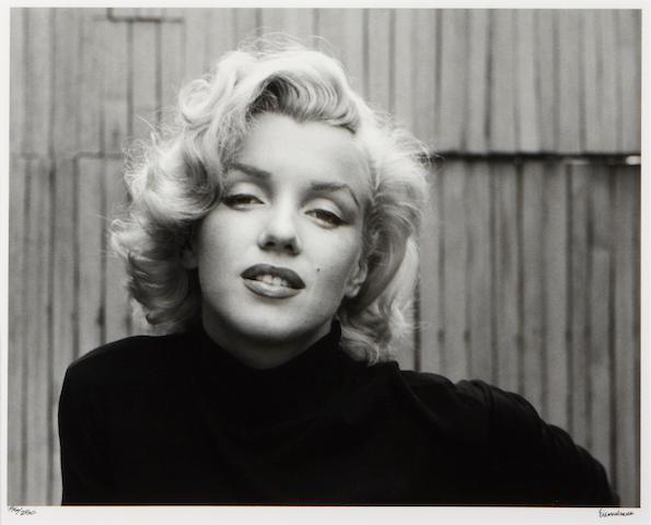 Alfred Eisenstaedt (American, 1898-1995); Marilyn Monroe, Hollywood;