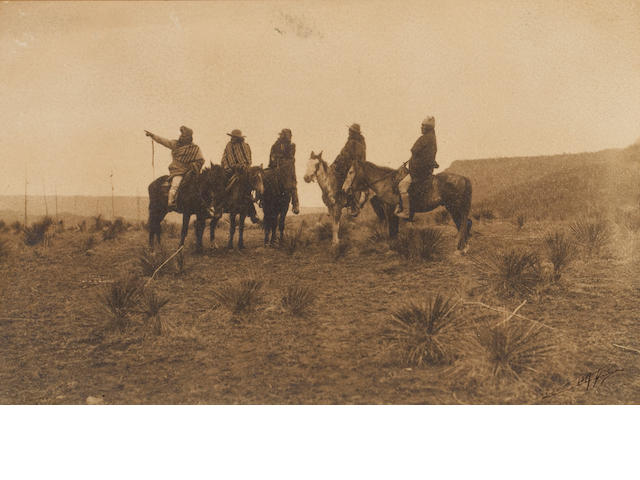 Edward Curtis The Lost Trail Apache, 1903;
