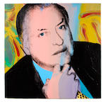(n/a) Andy Warhol (American, 1928-1987) Charles Ireland, 1979 (2 parts) each 40 x 40in (101.6 x 101.6cm) each unframed