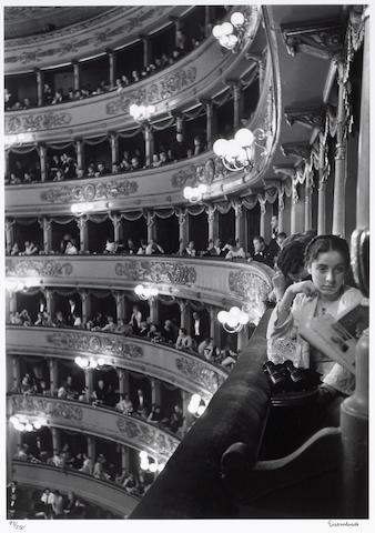 Alfred Eisenstaedt (American, 1898-1995); Premier at La Scala, Milan;