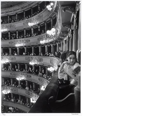 Alfred Eisenstaedt (American, 1898-1995); Premier at La Scala, Milan               ;
