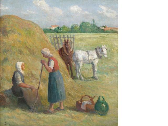Maximillien Luce, Rolleboise, la fennison