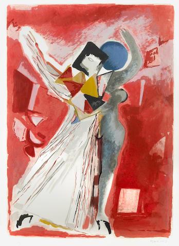 Marino Marini (Italian, 1901-1980); La Traviata, from Metropolitan Opera Fine Art I;
