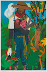 Romare Bearden (American, 1914-1988); The Lantern;