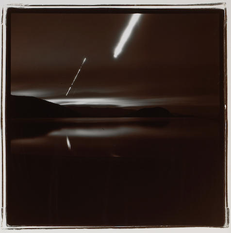 Richard Misrach (American, born 1949); Plate 4, from Desert Night Series;