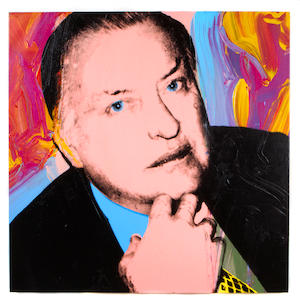 Andy Warhol (American, 1928-1987) Charles Ireland, 1979 (2 parts) each 40 x 40in (101.6 x 101.6cm) each unframed