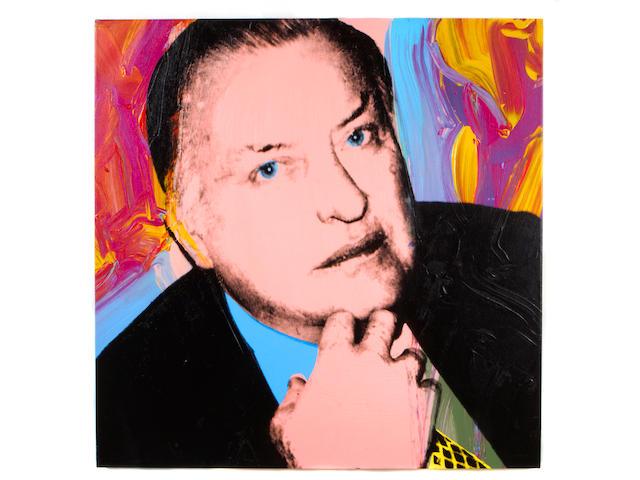 (n/a) Andy Warhol (American, 1928-1987) Charles Ireland, 1979 (2 parts) each 40 x 40in (101.6 x 101.6cm) each unframed