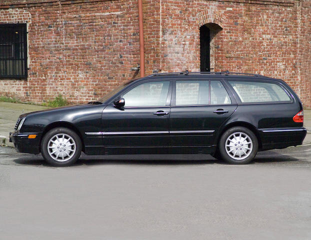 5,1999 Mercedes-Benz E320 Wagon  Chassis no. WDBJH65J9YB010820