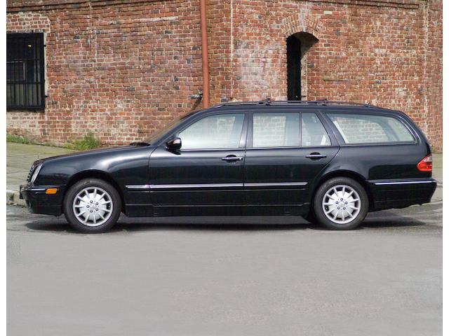 5,1999 Mercedes-Benz E320 Wagon  Chassis no. WDBJH65J9YB010820