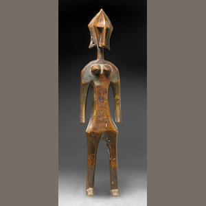 Bambara Standing Female Figure