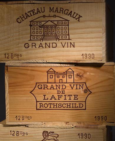 Chateau Lafite Rothschild 1990 (12)
