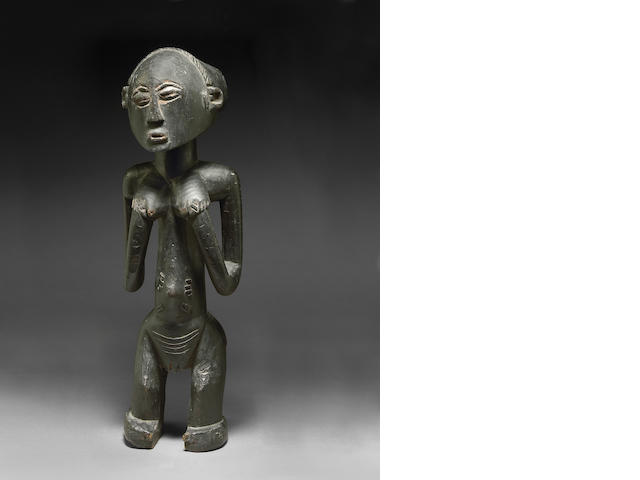 TO BE RECEIVED: Luba Female Figure