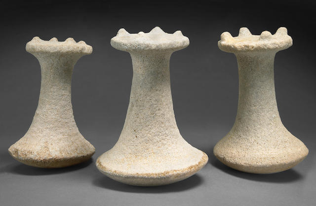 Three Micronesian Coral Pounders