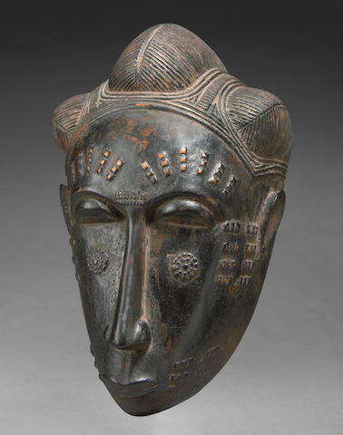 Baule Female Mask, Ivory Coast6