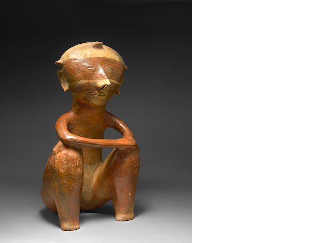 Chinesco Seated Female Figure, Type A, <br>Protoclassic, ca. 100 B.C. - A.D. 250