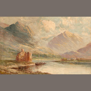 A castle by the lake by F.E. Jamieson