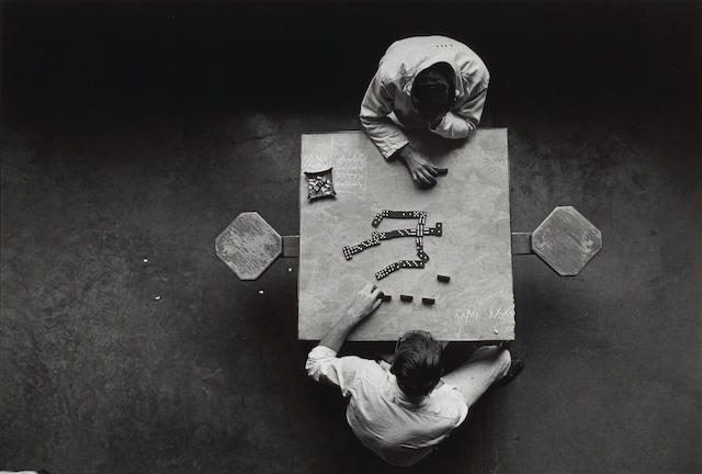 Danny Lyon (American, born 1942); Cell Block Table;