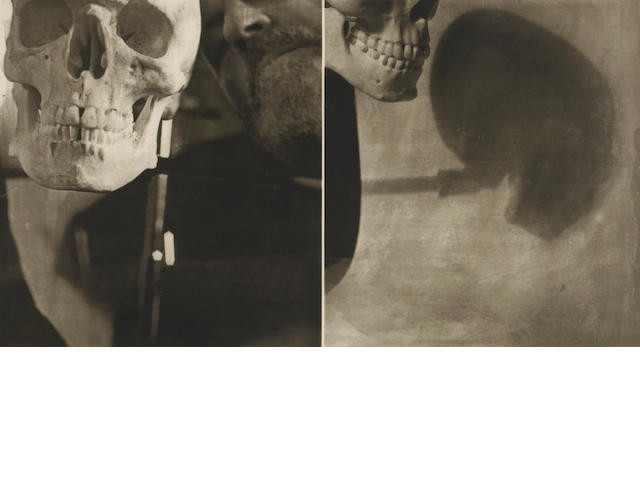 Jim Dine (American, born 1935); Self-Portrait (diptych); Help for the Deaf; Berlin, Late November; (3)