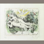 Marc Chagall (Russian/French, 1887-1985); The Garden of Eden;