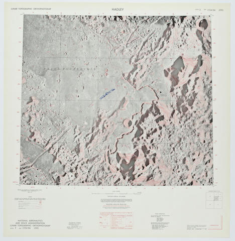 HADLEY—APOLLO 15 LUNAR LANDING SITE.