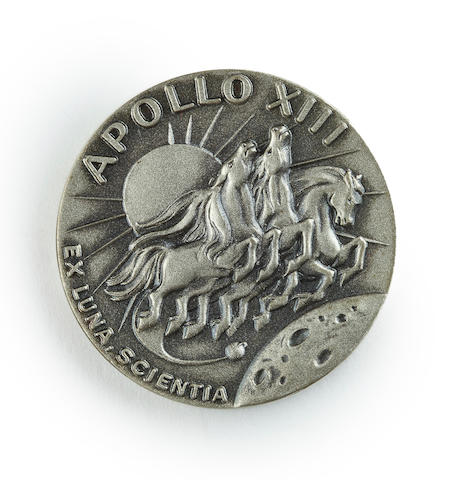 HAISE'S ROBBINS MEDALLION FROM APOLLO 13.