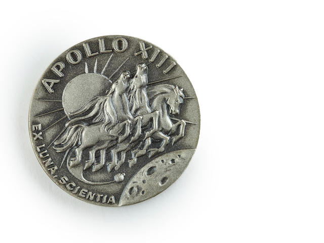 Apollo 13 Robbins medallion
