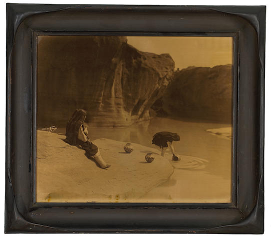 Edward S. Curtis (American, 1868-1952); The Old Well of Acoma;