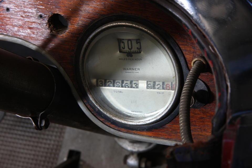 1921 Stutz Model K Bulldog Four Passenger Tourer  Chassis no. 10348 Engine no. 10304