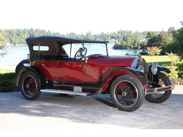 1921 Stutz Model K Bulldog Four Passenger Tourer  Chassis no. 10348 Engine no. 10304
