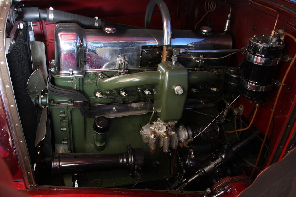 1929 Blackhawk by Stutz L-6 Two Passenger Speedster